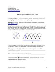 Circumference and Area Student Sheet.pdf