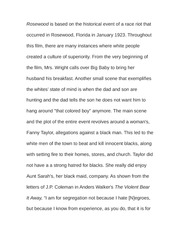 rosewood essay Essay on roosewooddoc conclusion, increasing the guest retention means increasing the money rosewood hotels & restores made what the primary goal for a company to.