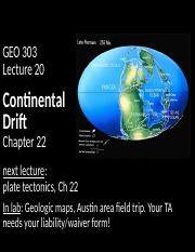 19_Continental drift_posting