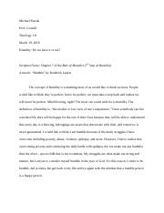 Research Paper on Humility.docx