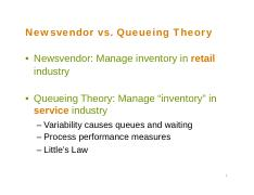 9_Queueing Theory - Part 1.pdf