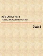 CH 2 V2 - Law of Contract (part 3)