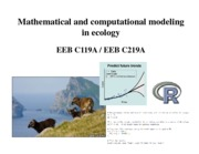 EEB C119A C219A - lecture 1 - Introduction