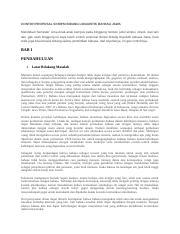 299557735 Contoh Proposal Skripsi Bidang Linguistik Bahasa Jawa Docx Contoh Proposal Skripsi Bidang Linguistik Bahasa Jawa Mendekati Semester Lima Course Hero