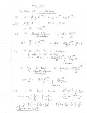 Phys 203 Maxwell Bottzmann Distribution Review Question Solutions