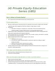 4 Private Equtiy Education Series.docx