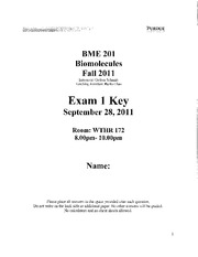 Exam 1 - Key with comments