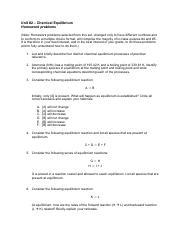 02_Equilibrium_homework_ANSWER_KEY - Unit#2 Chemical ...