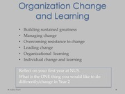 11. Change and learning LN