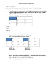 Genetics Assignment Worksheet(2) Elssy Maldonado