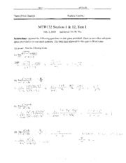 MTH132_Test1_Solution