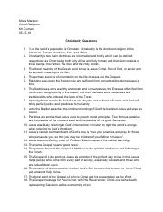 Christianity Questions.pdf