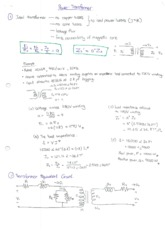 Electrical Power System_Summary Notes