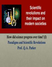 Lecture 04 Paradigms and Revolutons