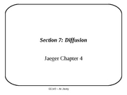 Section 7 - Diffusion - part 1