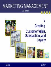 Kotler05 Creating Customer Value and loyalty(1).ppt