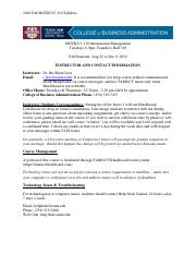 Course Syllabus MGTK515 (International Management)