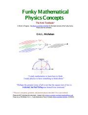 FunkyMathPhysics - Funky Mathematical Physics Concepts The