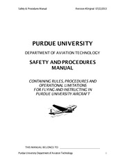 Safety & Procedures Manual Rev 6