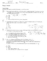 Chapter 3 Exam study guide with answers