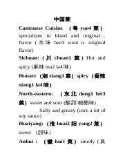Chinese Cuisine Expressions.doc