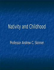 211 (4) Nativity and Childhood (4).ppt