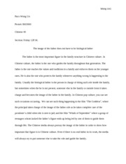 Chinese 40 final paper (Autosaved)