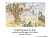 Lecture 21 Conference of the Birds.ppt