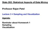 Stats 202 - Lecture 3