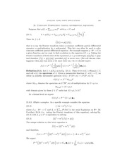 Constant Coefficient PDE
