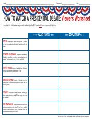 presidential-debate-worksheet1