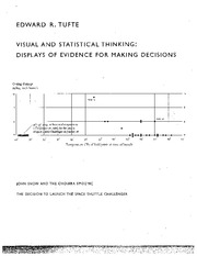 Visual and Statistical Thinkiing