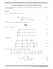 Normal Equation.pdf