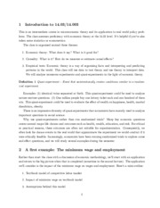 Minimum Wage review study guide