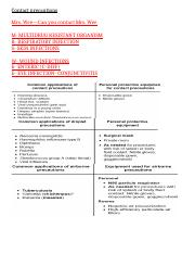 isolation precautions NCLEX.docx