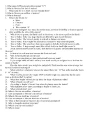 study guide for newton exam