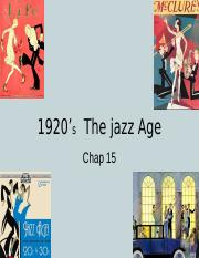 1920's  the jazz age.ppt