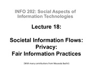 INFO202-S15-Lecture18-SocietalFlows-Privacy-2-FIPs
