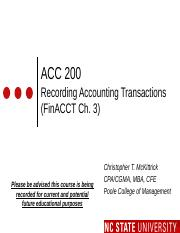 #03 FinCh3 MOODLE ACC200 Recording Accting Trans - Fall 2016 (1)