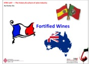 Lecture 4.2 - Fortified & Sweet Wines