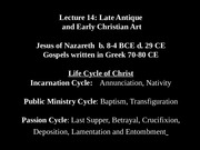 Lecture 14Late antique early christianweb-1