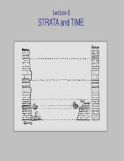 LECTURE 6 - Statigraphy and Time-1