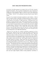 ESSAY 4 - ROLE OF JUDICIARY IN THE COUNTRY TODAY The role of