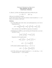 MATH 22B Fall 2014 Final Exam Solutions