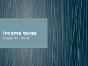 nCh16B - Income taxes