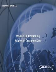 13ESS_Access to Customer Data