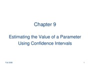 estimating parameter