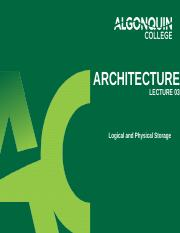 CST8276_Week 3_Logical and Physical Storage.pptx