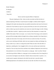 Research papers on divorce