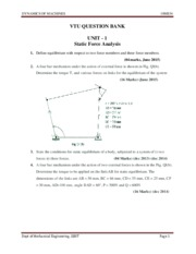 MECH-V-DYNAMICS OF MACHINES [10ME54]-QUESTION PAPER